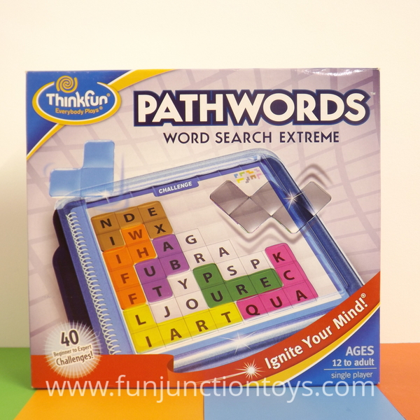Large pld tf pathwords  thinkfun wordsearch single player solitaire game for children aged twelve 12 years and up w  w