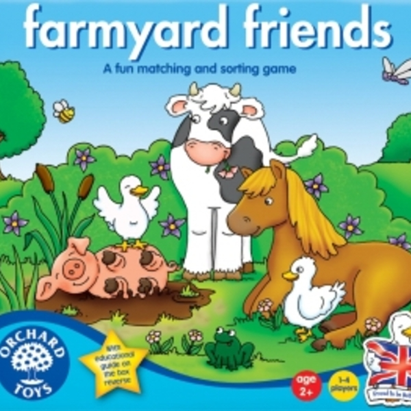 Large orchard toys farmyard friends