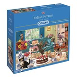 Small a gibsons feline frenzy 1000pc