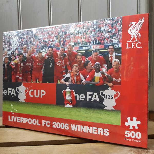 Large jigsaw football liverpool football club lfc fc 2006 winners
