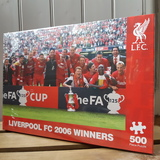 Small jigsaw football liverpool football club lfc fc 2006 winners