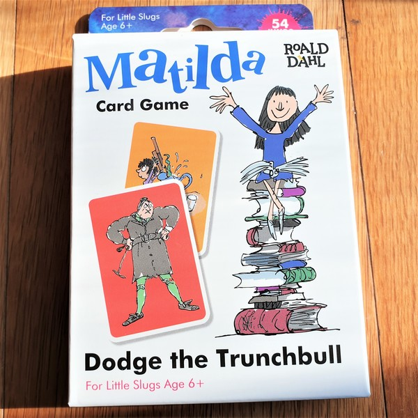 Large fun junction toy shop perth crieff paul lamond games card game family matilda roald dahl dodge the trunchbull