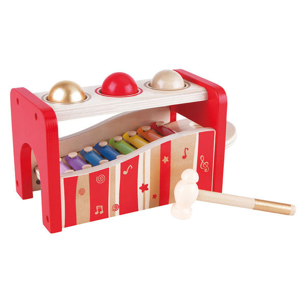 Large hape pound and tap bench