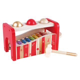 Small hape pound and tap bench