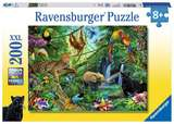 Small ravensburger fun junction toy shop perth crieff perthshire scotland puzzle jungle puzzle 200xxl