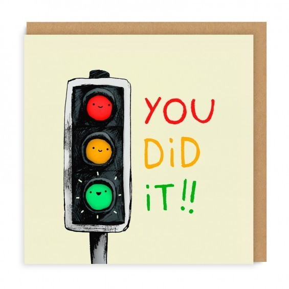 Large sggc027   you did it  greeting card   square