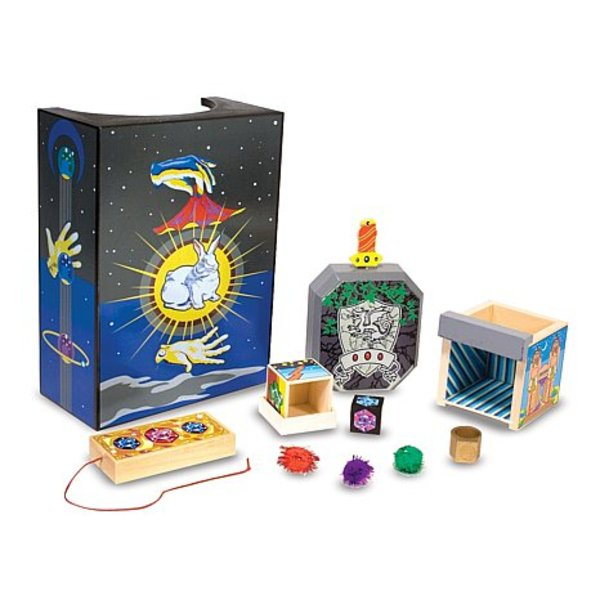 Large melissa and doug discovery magic set tricks collection
