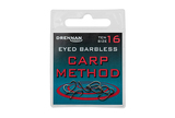 Small eyed barbless carp method packed updated