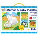 Small fun junction galt jigsaw jig saw puzzle four pack mther and baby animal puzzles preschool early years toddler