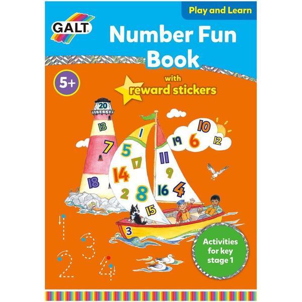 Large galt number fun book