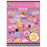 Small galt girl club sticker pad