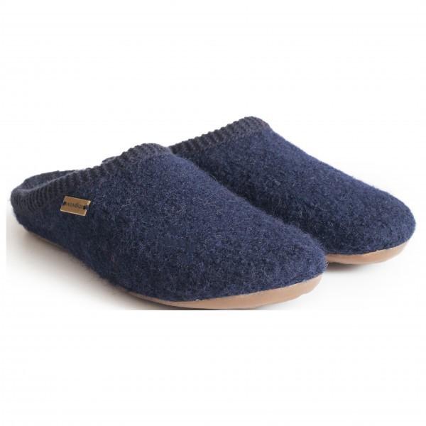 Large haflinger haflinger everest classic slippers size 43  blue