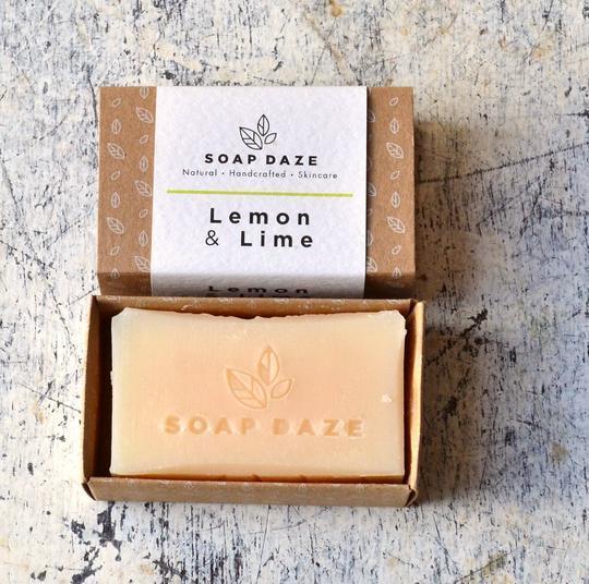 Large lemon and lime handmade vegan natural soap 540x