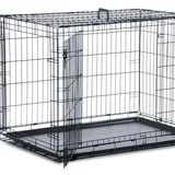 Small dog crate lareg