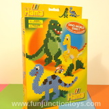 Small dkl h dino world hanging box  w