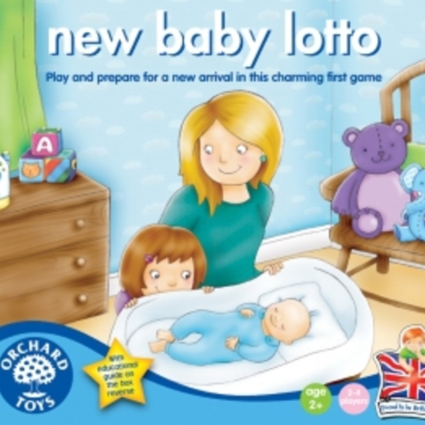 Large orchard toys new baby lotto fun junction