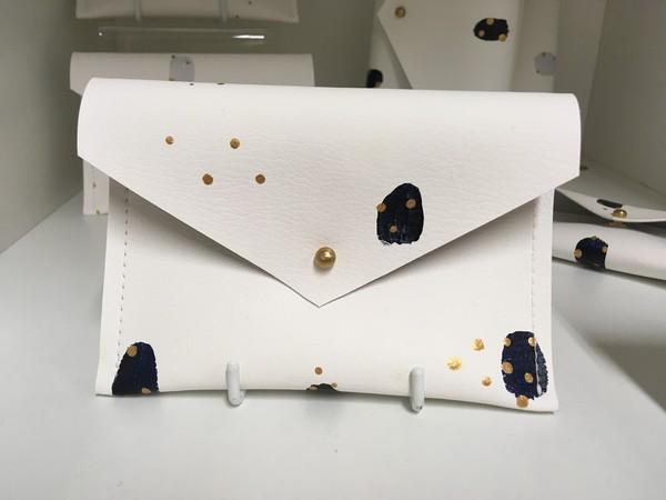 Large sl   everyday navy purse