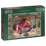 Small falcon granddad s garage 500pc