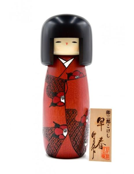 Large kokeshi doll beginning of spring l soshun