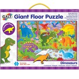 Small galt giant floor jigsaw puzzle 30 thirty pieces stencil peices dinosaur dinosaurs suitable for children aged 3 three years and over
