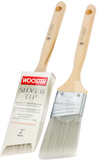 Small wooster silver tip angle sash paint brush