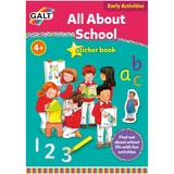 Small fun junction galt activity book stickers all about school introduction to big school primary school