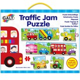 Small galt traffic jam puzzle long puzzle 10 ten piece for children aged 3 three years and up