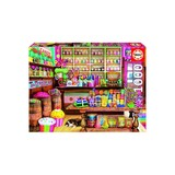Small educa university games fun junction toy shop perth crieff perthshire scotland 1000 pc piece puzzle the sweet shop candy shop