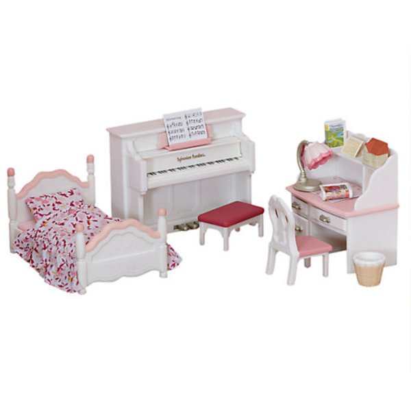 Large sylvanian families 5032 girls bedroom set