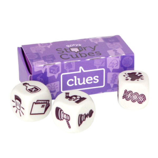 Large rory s story cubes clues story telling game with dice for 6 six years and up