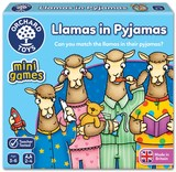Small fun junction orchard toys game mini travel game llamas in pyjamas