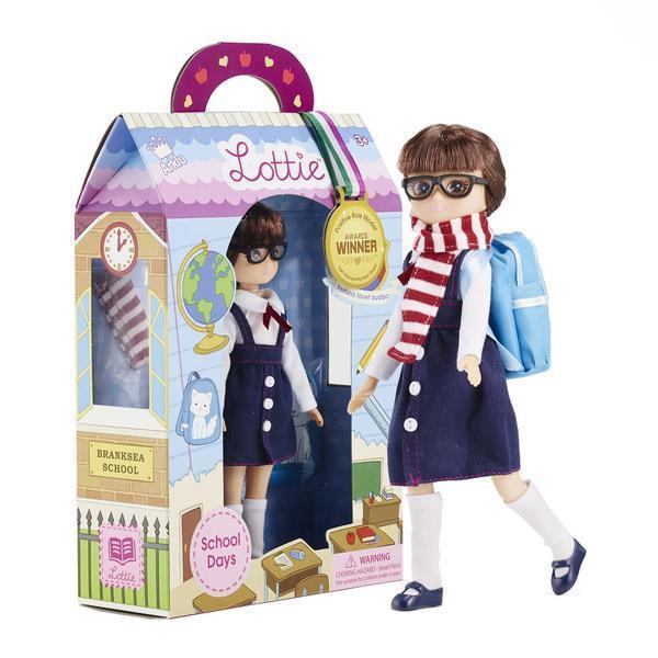 Large lottie doll school days