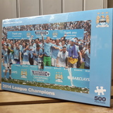 Small jigsaw football manchester city football club mcfc 2014 league champions