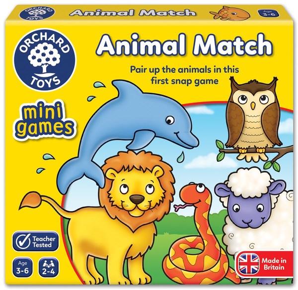 Large fun junction orchard toys game mini travel game animal match pairs game