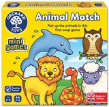 Small fun junction orchard toys game mini travel game animal match pairs game