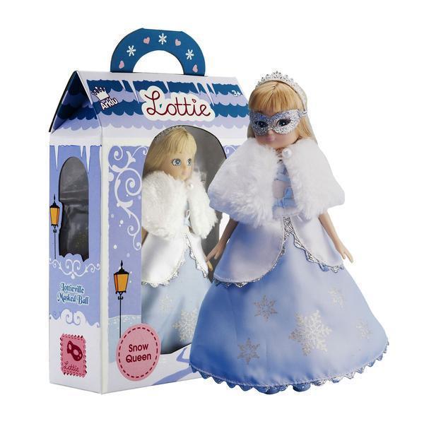 Large lottie doll snow queen
