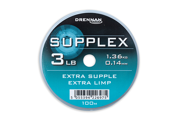 Large supplex 100m spool 3lb a