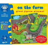 Small orchard toys on the farm giant jigsaw playmat puzzle giant toddler preschool