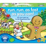 Small orchard toys run run as fast as you can gingerbread man game preschool