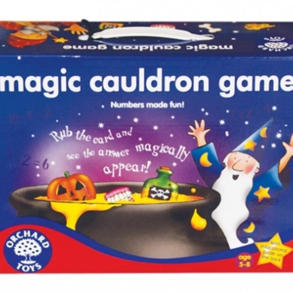 Large orchard toys magic cauldron maths game addition subtraction multiplication