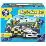 Small orchard toys big police car jigsaw puzzle