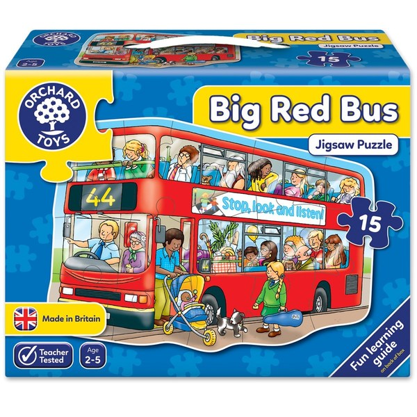 Large orchard toys big bus jigsaw puzzle 2