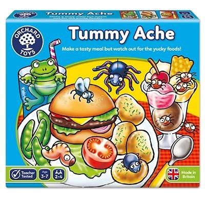 Large orchard toys tummy ache game
