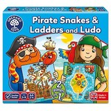 Small orchard toys pirate snakes and ladders game