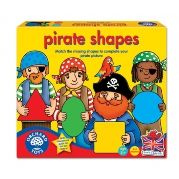 Large orchard toys pirate shapes early shapes game for 2 two and a half years 30 thirty months