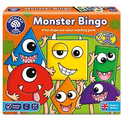 Large orchard toys monster bingo game
