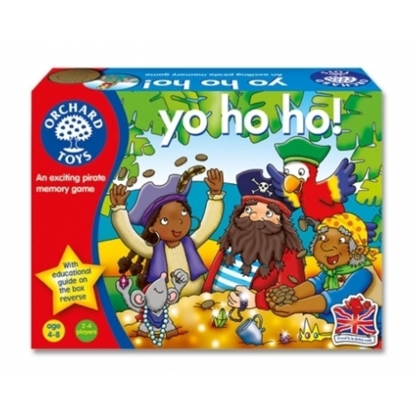 Large orchard toys yo ho ho pirate pairs game for preschool loot steal pairs