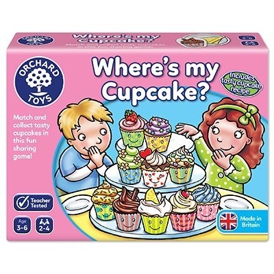 Large orchard toys wheres my cupcake