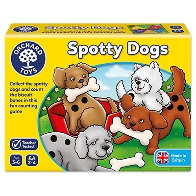 Large orchard toys spotty dogs game