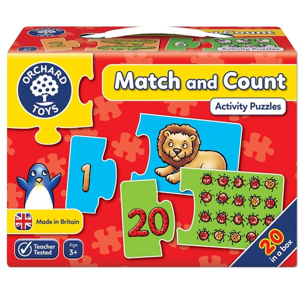 Large orchard toys match and count jigsaw puzzle